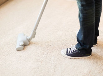 Mold prevention by vacuuming