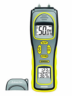 General Tools MMH800 All-In-One Moisture Meter