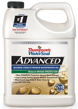Thompsons WaterSeal TH.A21711-16 Advanced Natural Wood Protector