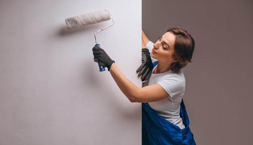 Mold resistant paint