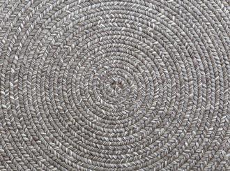 Cleaning jute rugs.