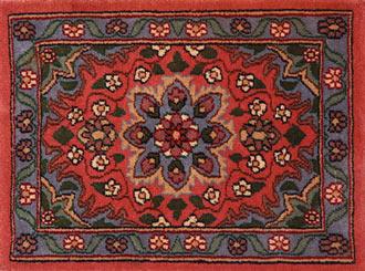 Cleaning oriental rugs.
