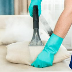 Steam cleaners for carpets and upholstery.