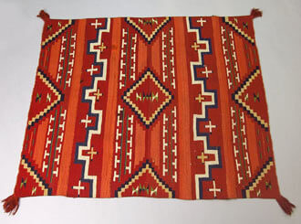 How to clean a Navajo rug.