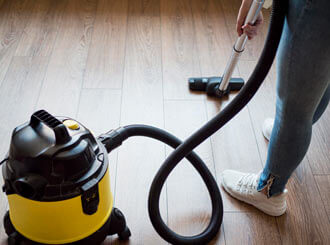 How to clean a vacuum hose.