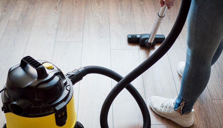 Tips on how to clean a vacuum hose.