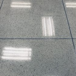 How to clean terrazzo tiles.