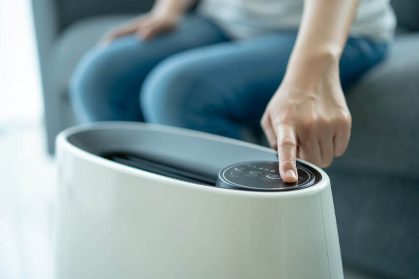 HEPA air purifier efficiency